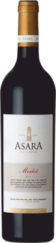 Asara Vineyard Collection Merlot 2011 Stellenbosch Südafrika 0,75l
