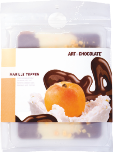 Marillen Topfen 120g Tafel - Art of Chocolate