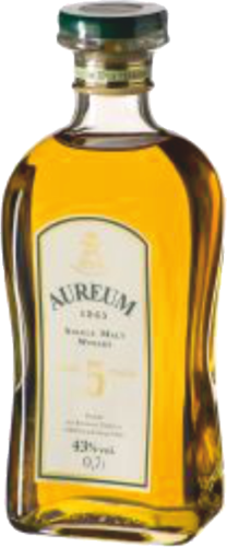 Ziegler Aureum Single Malt Whisky 5 Jahre 0,7 l - Aktionspreis