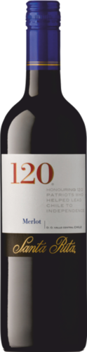 Santa Rita 120 Merlot 2016 Chile - Central Valley 0,75l