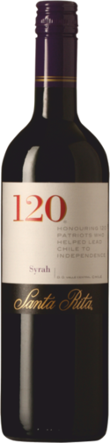 Santa Rita 120 Syrah 2015 Chile - Central Valley 0,75l