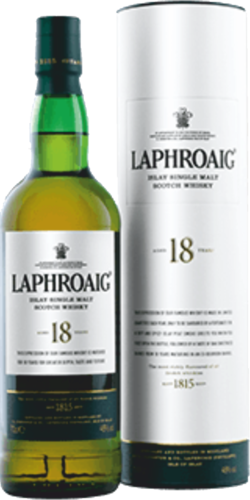 Laphroaig 18 Jahre Islay Single Malt Scotch Whisky 0,7