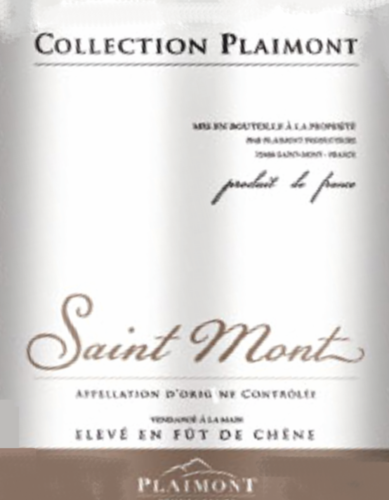 Collection Plaimont Rouge 2011 Saint Mont AOC Frankreich 0,75l