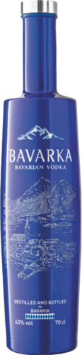 BAVARKA Bavarian Vodka 43% vol Lantenhammer  700 ml
