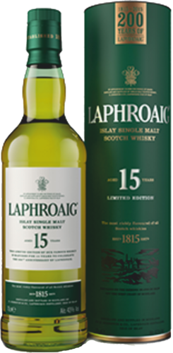 Laphroaig 15 Jahre 200th Anniversary Islay Single Malt Scotch Whisky 0,7