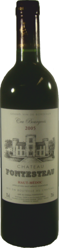 Chateau Fontesteau - Cru Bourgeois 2013 Medoc Bordeaux