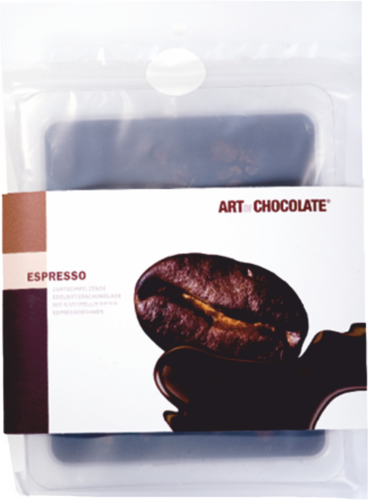 Espresso Edelbitter 120g Tafel - Art of Chocolate