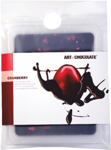 Art of Chocolate Cranberry Edelbitter 70% (120g)